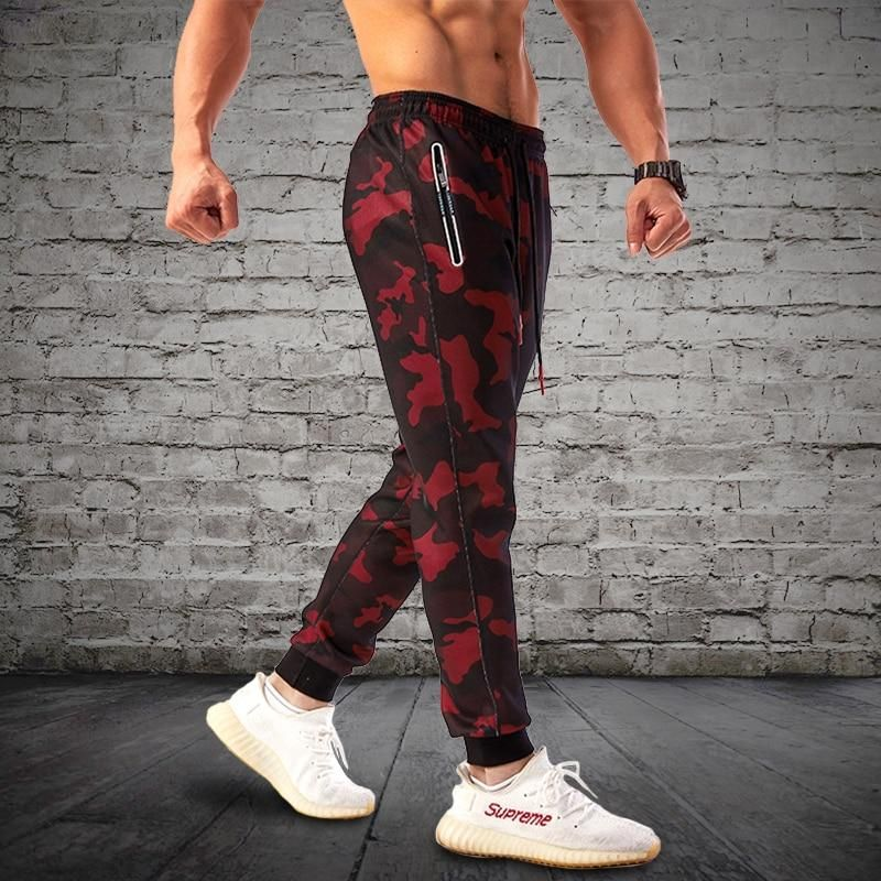 e4261fffaa625 2018 Camouflage Jogging Pants Men Sports Leggings Fitness Tights Gym Jogger  Bodybuilding Sweatpants Sport Running Pants Trousers