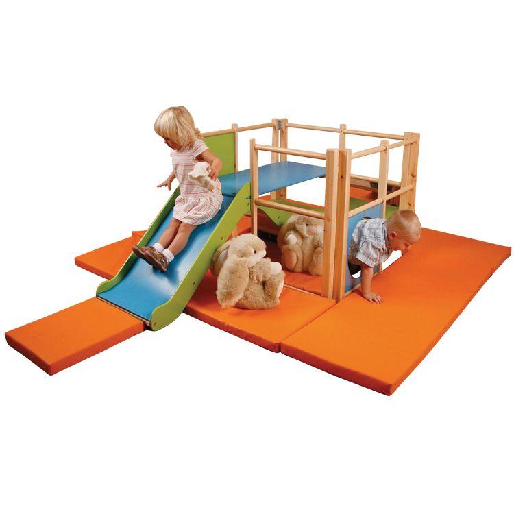 Orange safety mats set of 5 for Toddler Activity Centre.