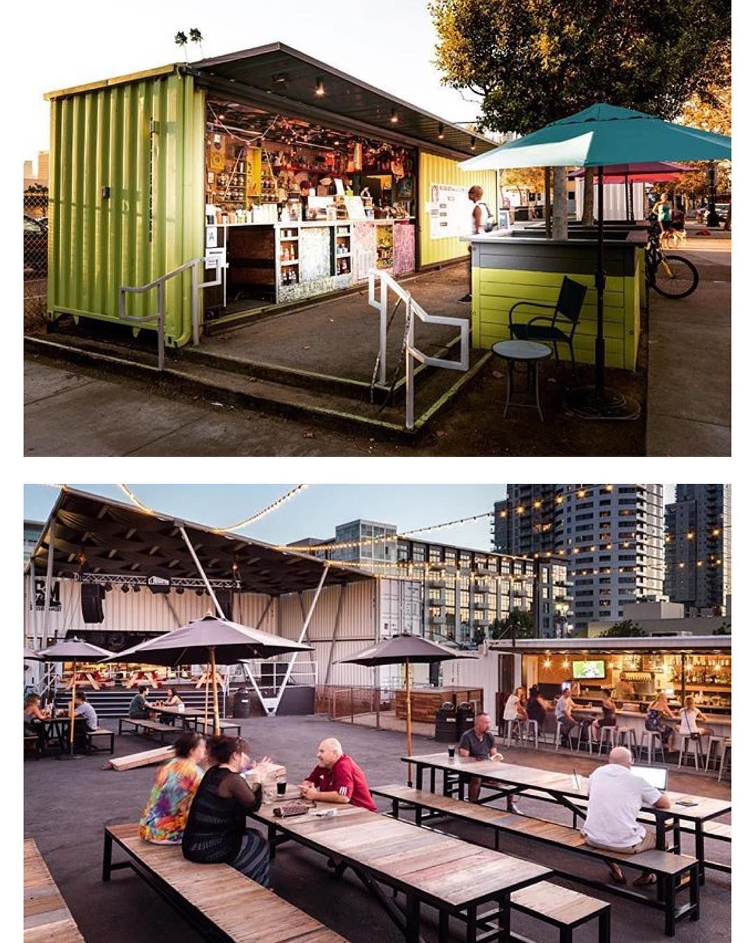 Pin de kris cerone en shipping container homes pinterest for Village craft container home