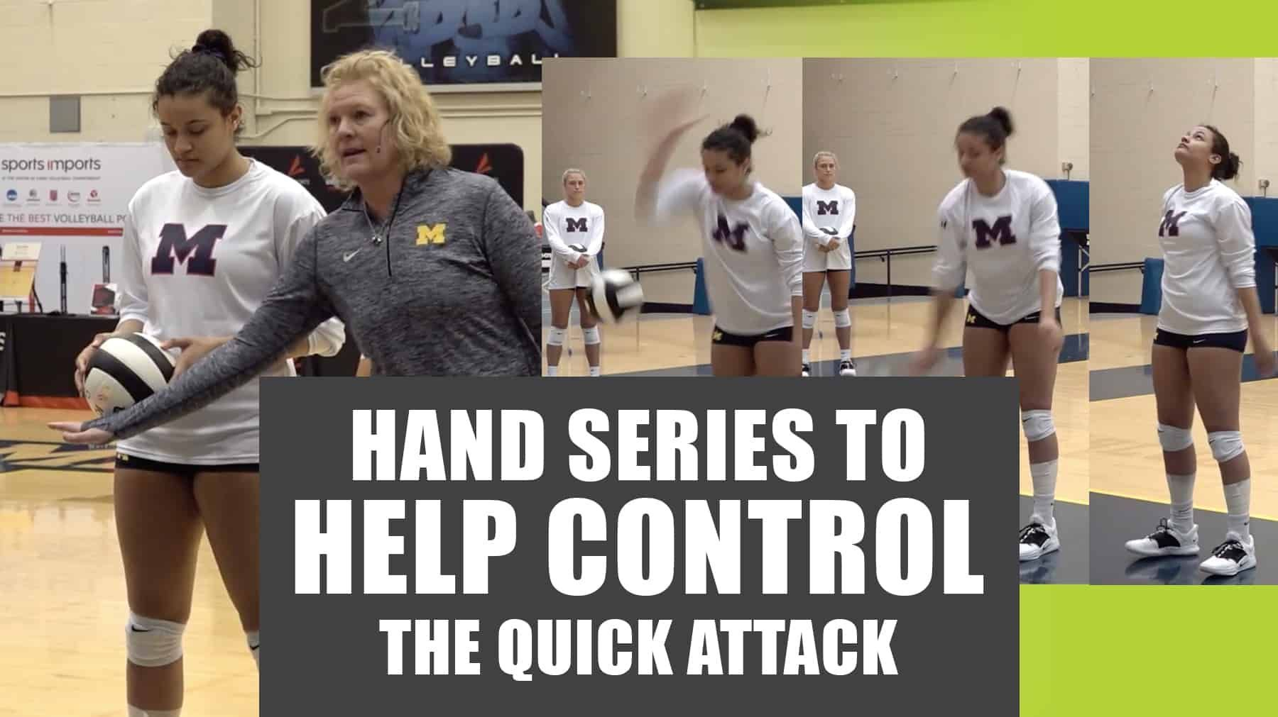 Hand Series To Develop Hitting Control Volleyball Workouts Coaching Volleyball Volleyball Training