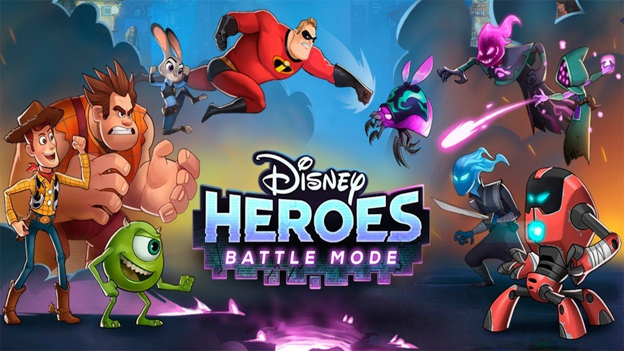 Disney Heroes Battle Mode Android Gameplay.