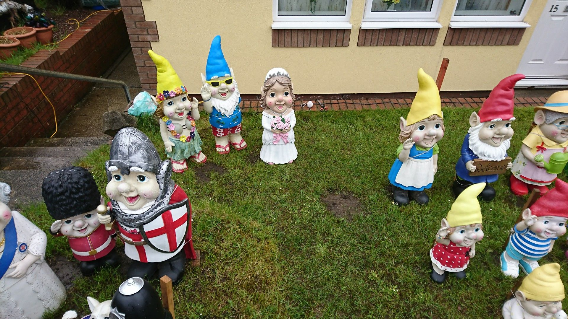 Pin by Julie Chandler on Just wow Asda gnomes, Gnomes, Fire