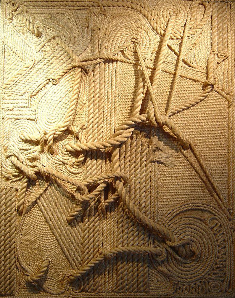 Wall Decor With Rope : Wall rope art arts walls