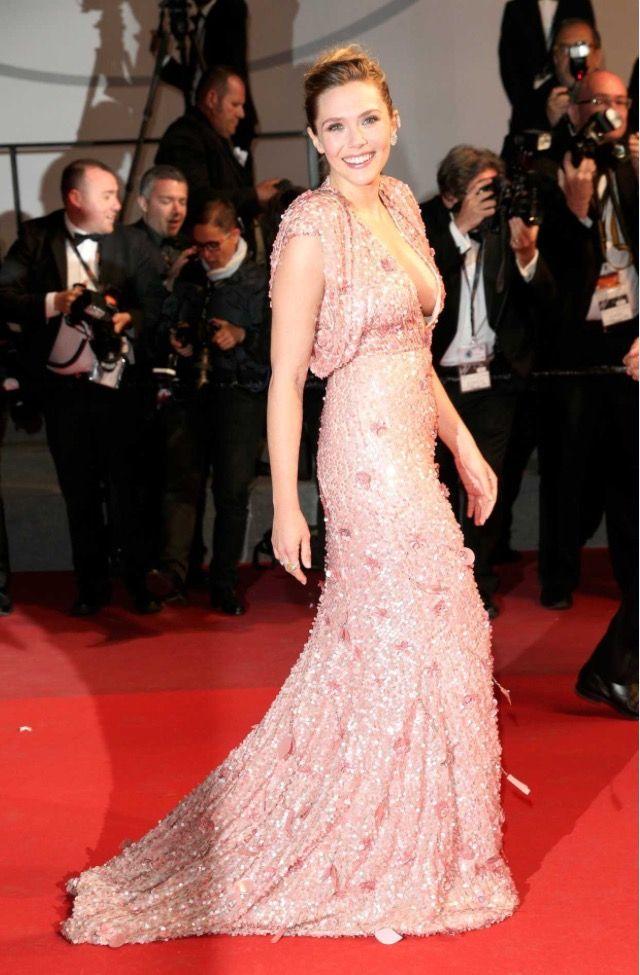 Elizabeth Olsen (Cannes Red Carpet premier for \