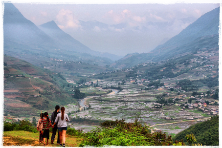 Northwest Vietnam. A beautiful place with mountainscapes, crisp fresh air and colourfully-clothed hilltribes.