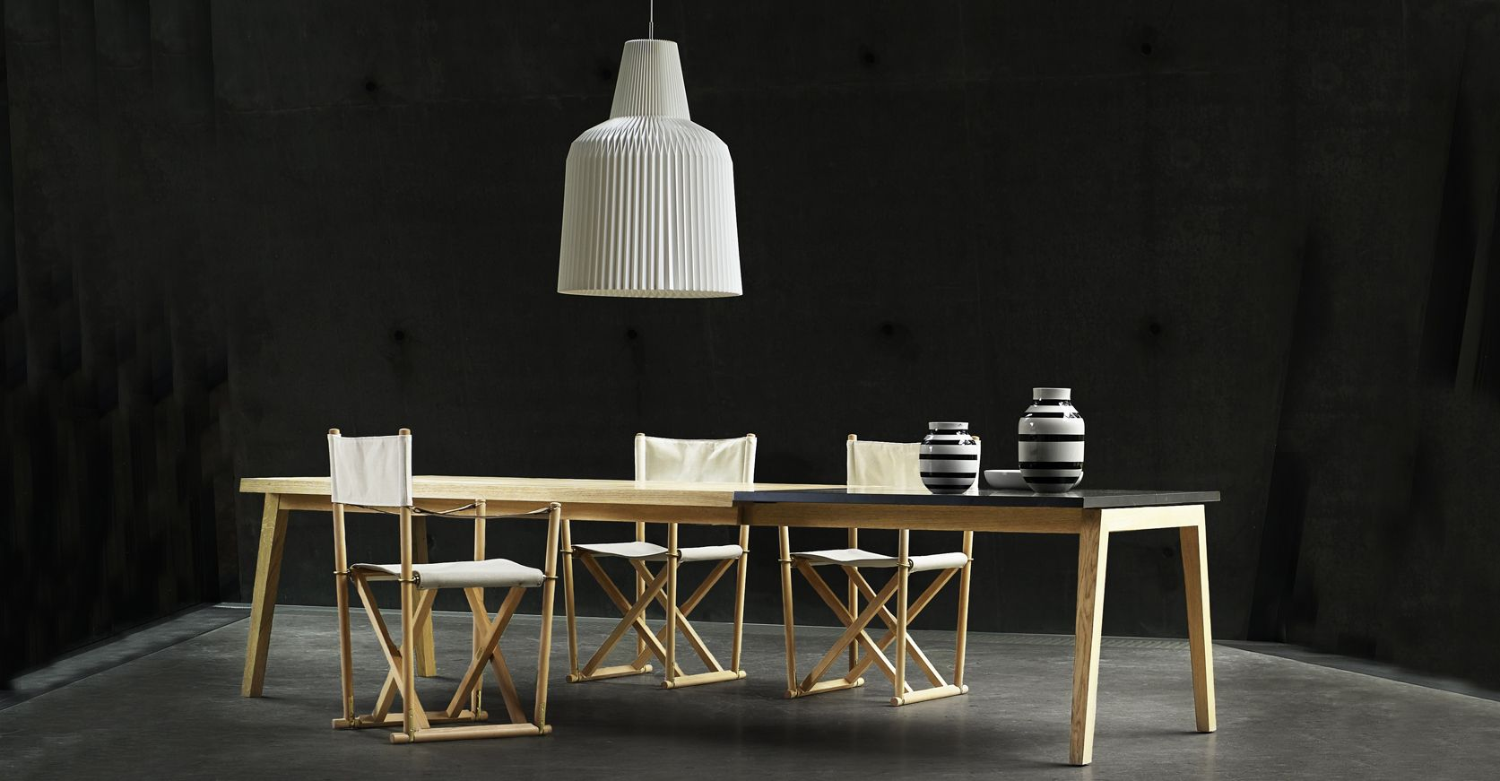Esstische Dänisches Design Sh900 Dining Table Built In Extension Leaves With Fold Out