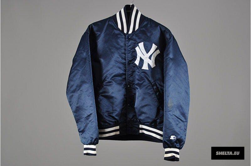 a8b125dd5d332 Shelta Vintage Starter Diamond Collection New York Yankees Satin Varsity  Jacket