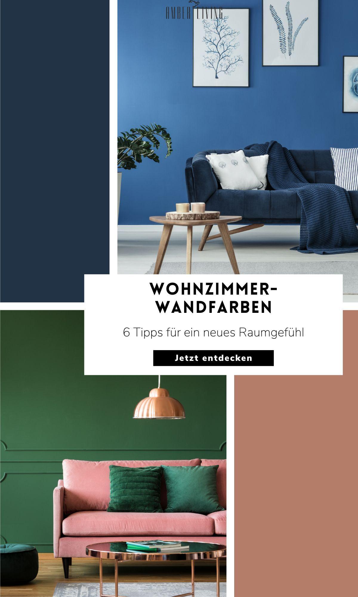 Farb-Ideen für Wohnzimmer in 10  Wandfarbe wohnzimmer