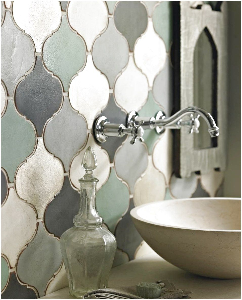 Moroccan Shaped Tile These Tiles Are Brand New From Fired Earth And Were Inspired By Ceramicfl Eclectic Bathroom Moroccan Tile Backsplash Marrakech Tile
