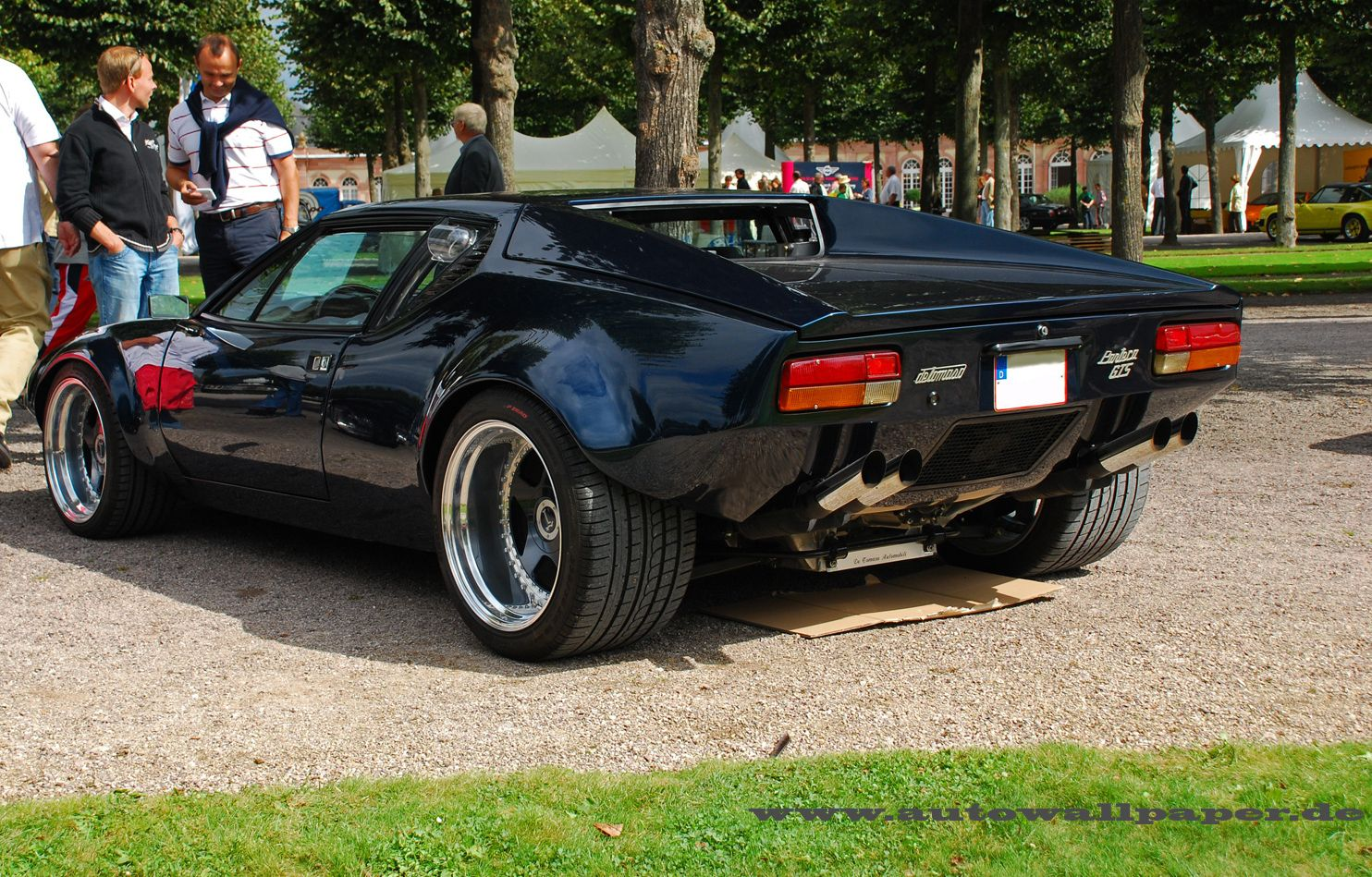 1970 De Tomaso Pantera,it had a 351 cleveland ford motor and was sold by ford in the 70's..
