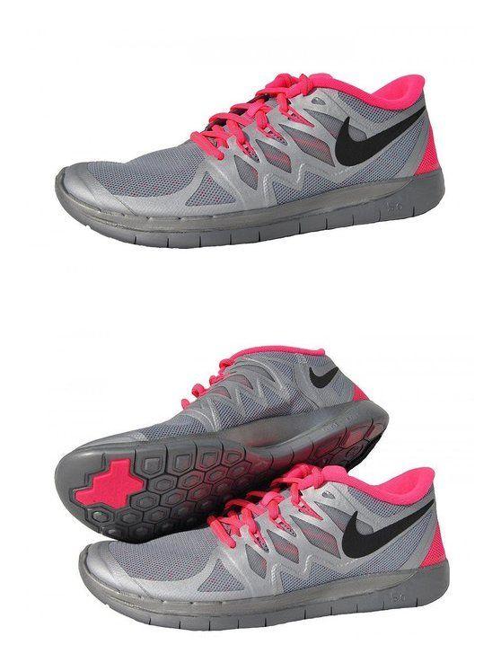 sale retailer 7ac06 cdc82  50 - NIKE Free 5.0 Flash Junior Running Shoe, Silver Pink  shoes  nike