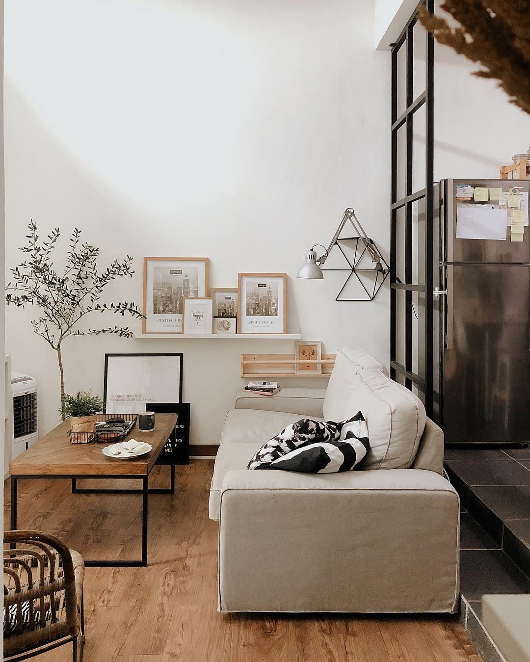 Desain Inspirasi Interior Ruang Keluarga Yang Dipadu Dengan Gaya Scandinavian Dan Gaya Industrial Inspirasi Desain Ide Dekorasi Rumah Interior Ruang Keluarga