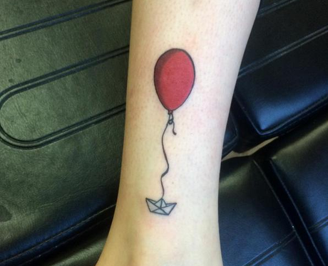 Photo of 'We all float down here'