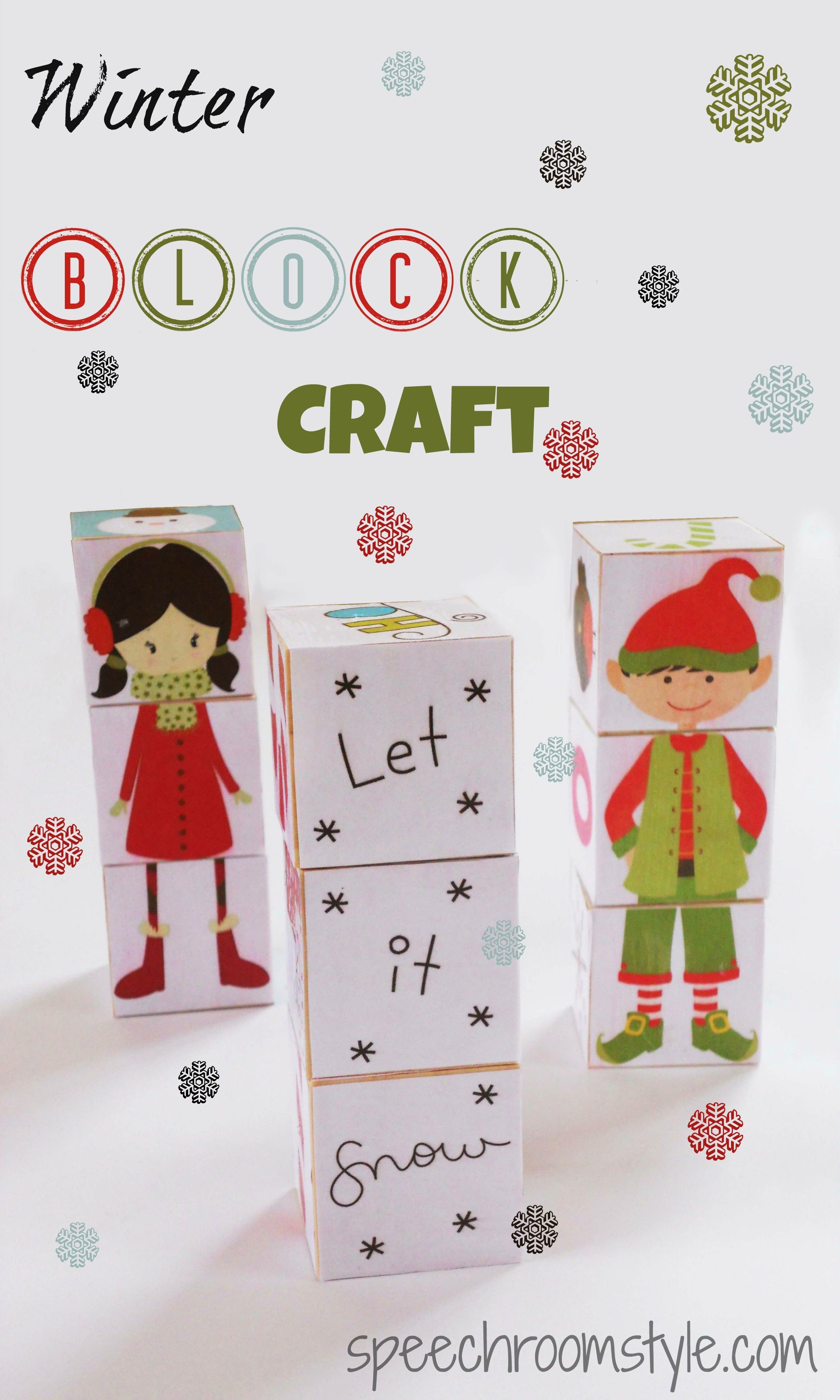 10 Winter Crafts to make with Kids The Weekly Round Up