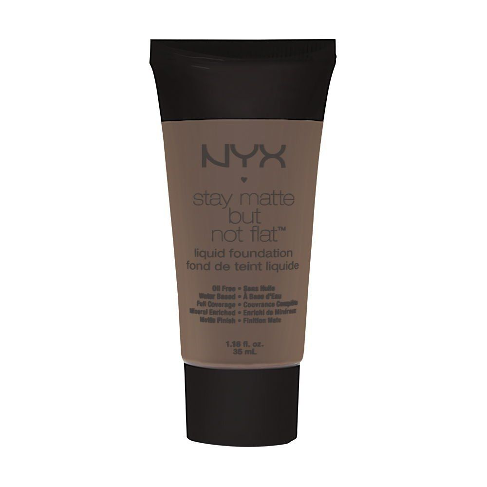 Nyx Stay Matte But Not Flat Powder Foundation Shade Finder Nyx Cosmetics Matte But Not Flat Liquid Foundation Deep Dark This Is An Amazon Af Best Foundation For Oily Skin Makeup Tips For Oily Skin Liquid Foundation