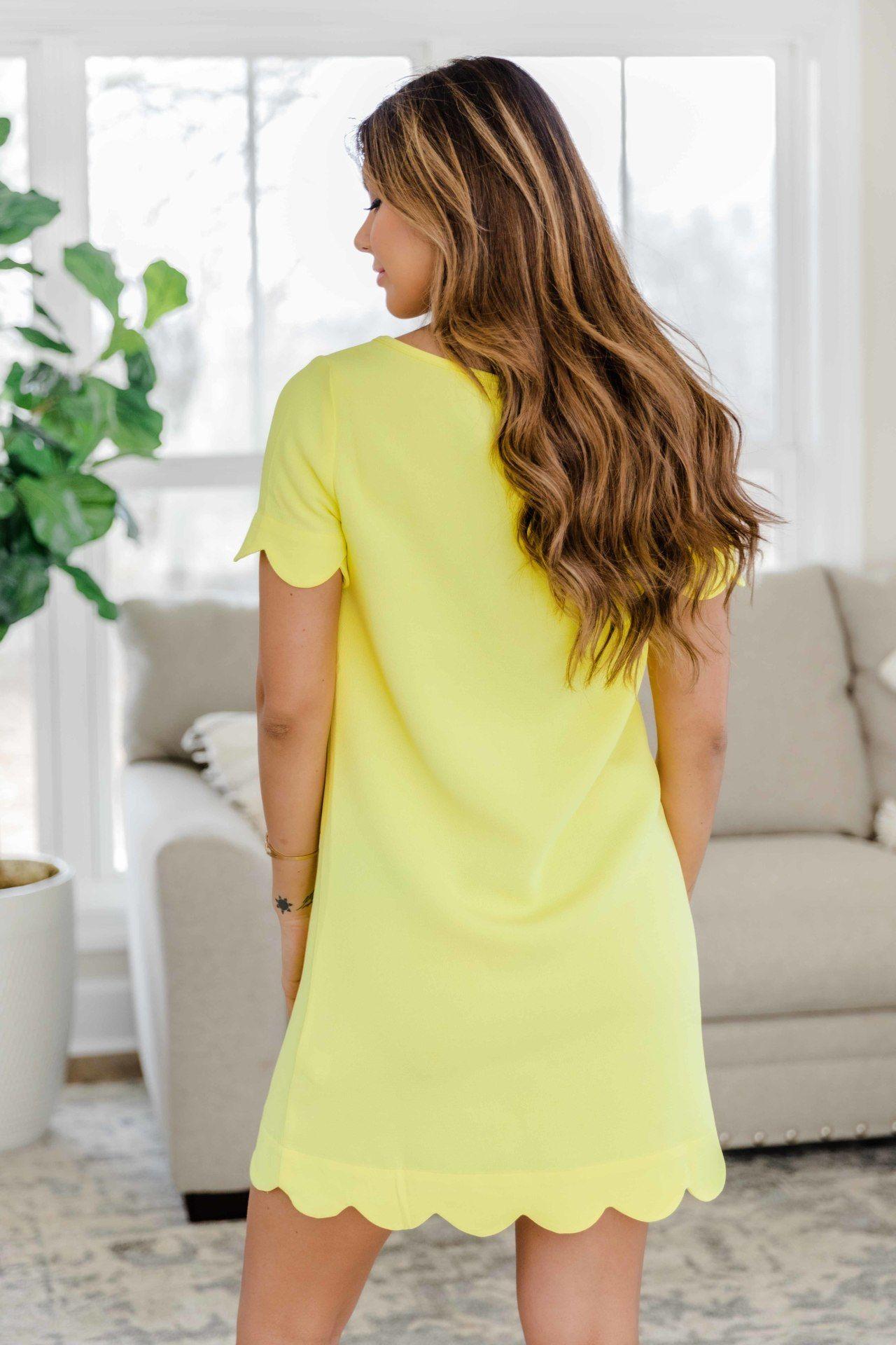 فستان اصفر رومانسي مجدد Sweet Dress Yellow Dress Dresses