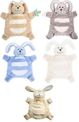 New Baby Gift Soft Toy Soother Newborn Baby Blue Elephant Comforter Blanket