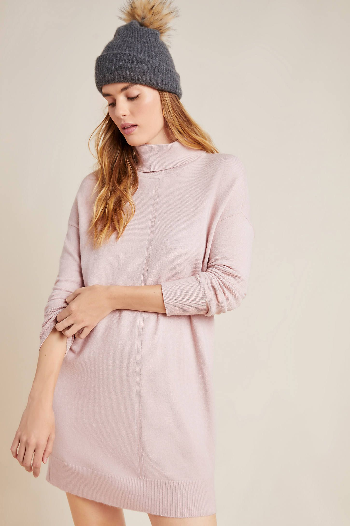 Maggie Turtleneck Sweater Dress 11