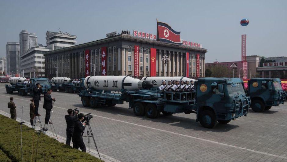 FOTOS | Estas son las poderosas armas que Corea del Norte presumió ante el mundo | CNNEspañol.com