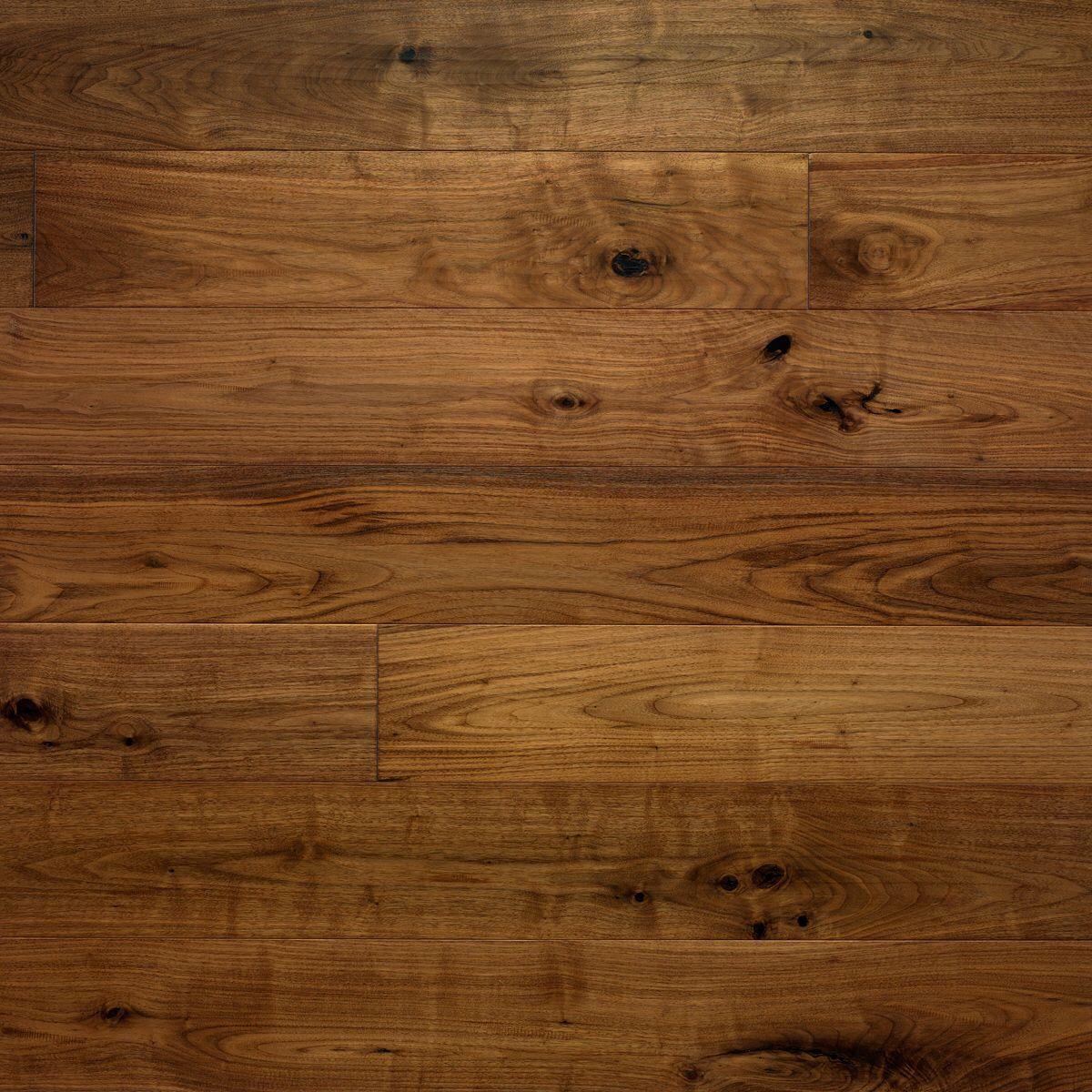 Kentwood Originals Sculpted Walnut Wide Plank Engineered Hardwood