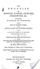 The Practice of Cookery, Pastry, Pickling, Preserving,