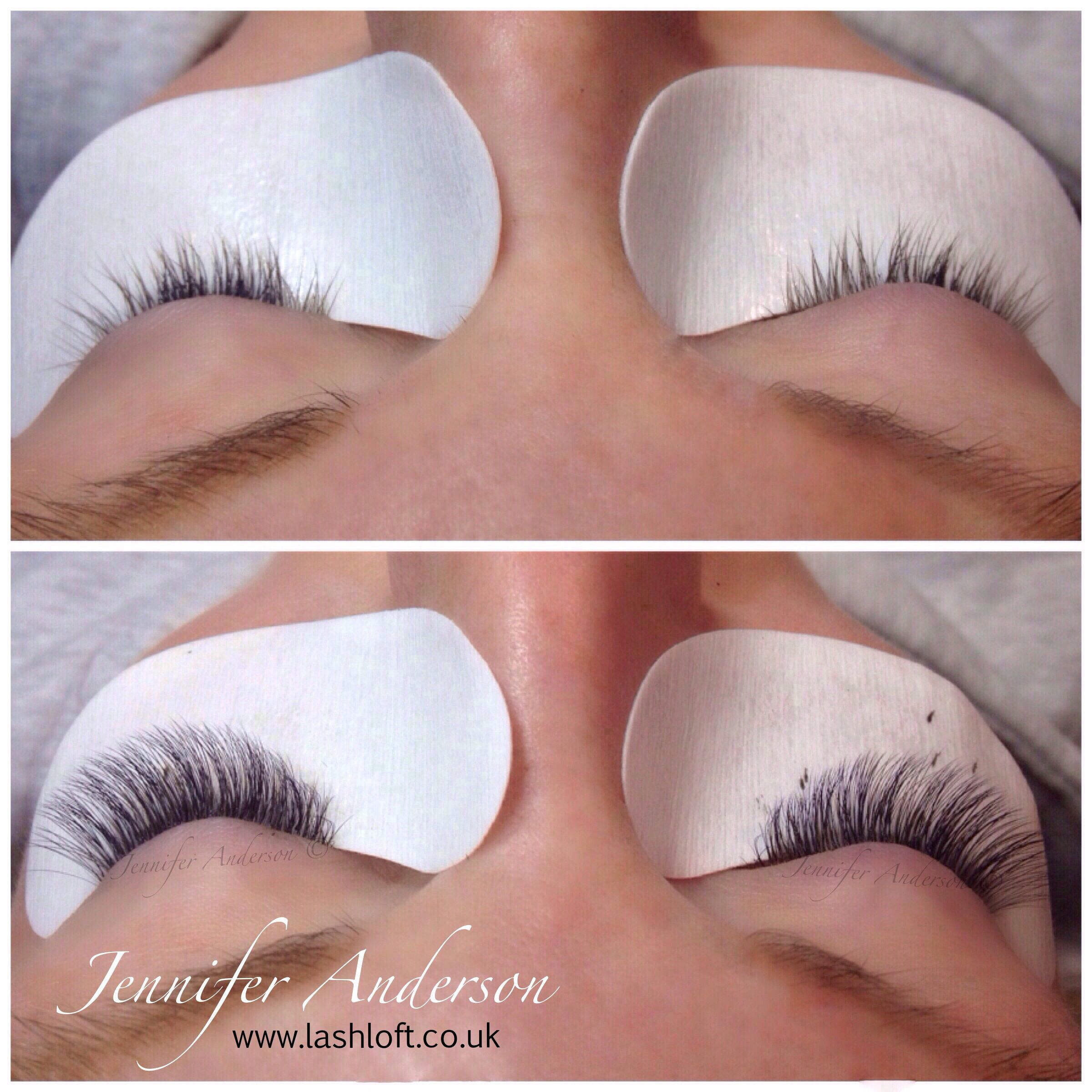 e4335780083 2/3D Volume lashes in 0.07 very soft and natural (7-12mm length) Semi  Permanent Eyelash Extensions