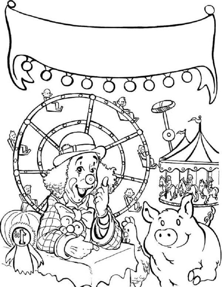 Carnival Games Coloring Pages Coloring Pages Christmas Present