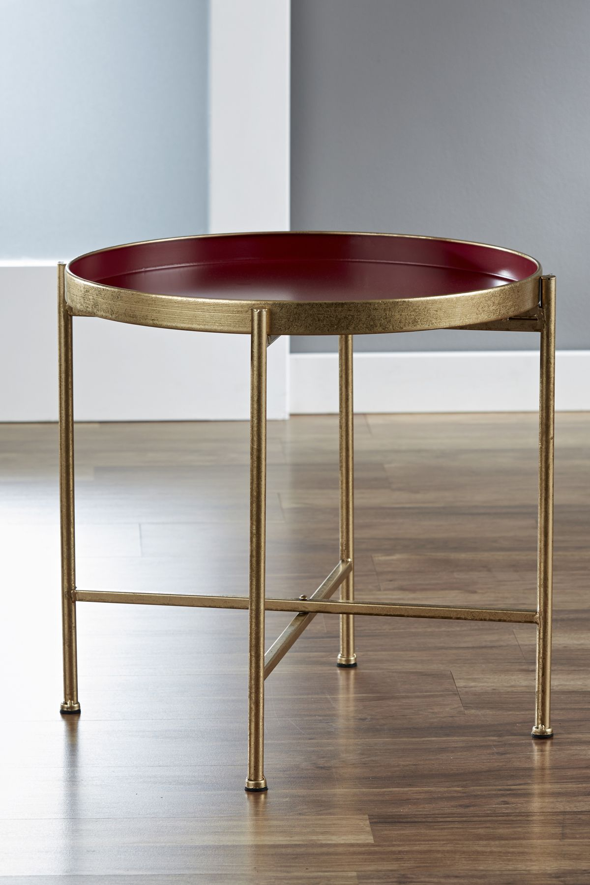 InnerSpace Pop Up Tray Table in Red