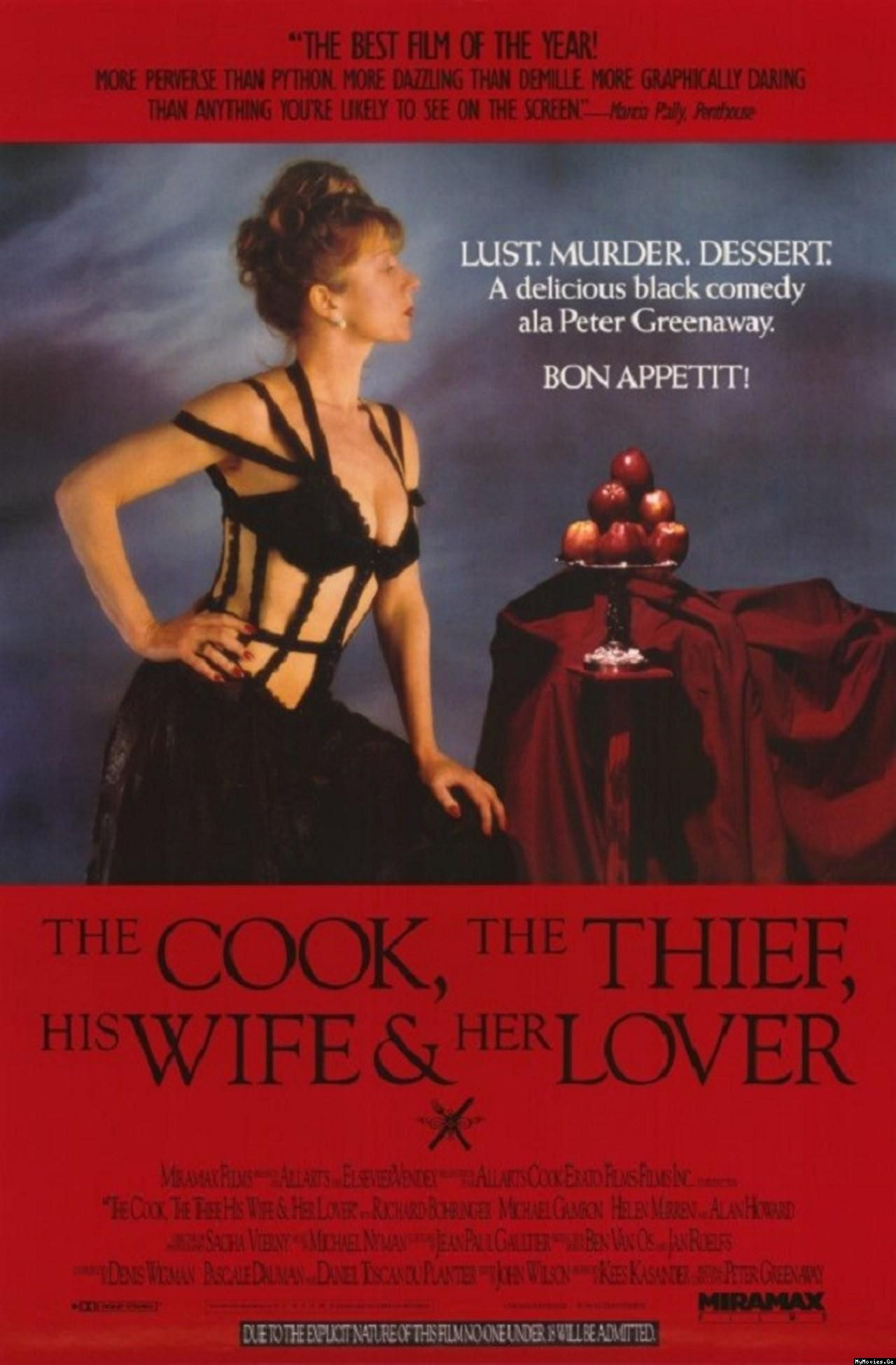 Our Daily Trailer THE COOK THE THIEF HIS WIFE & HER LOVER