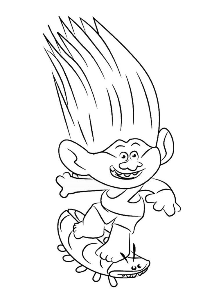 Trolls Movie Coloring Pages Best Coloring Pages For Kids Poppy Coloring Page Coloring Pages Cartoon Coloring Pages