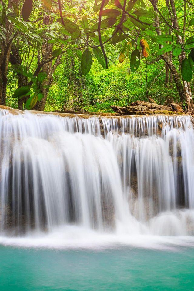 Mini Waterfalls Wallpaper Waterfalls Nature Iphone Wallpaper Waterfall Wallpaper Waterfall Waterfall Scenery