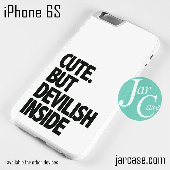 Cute But Devilish Inside Phone case for iPhone 6/6S/6 Plus/6S plus