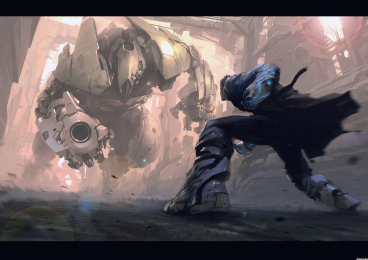 Anime Fight Scene Wallpaper Google Search Art Epic Art