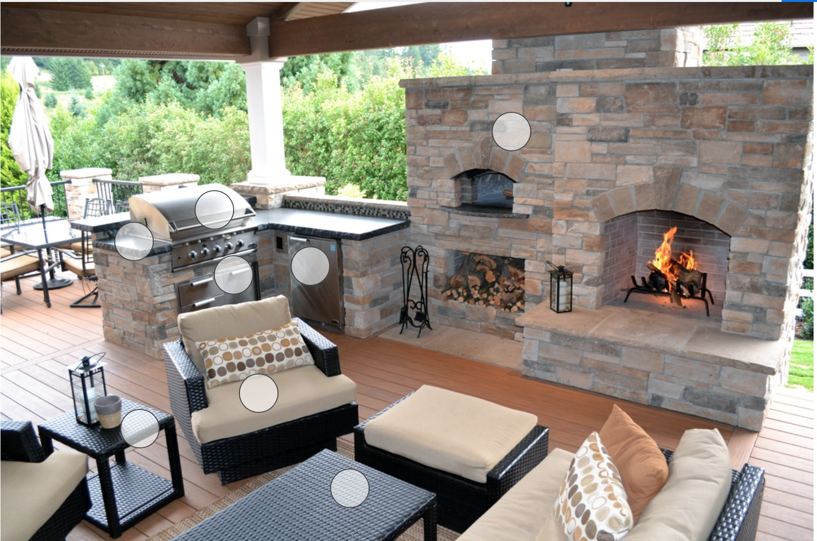 Outdoor kitchen by Patricia Melbourne on Decks and Patios