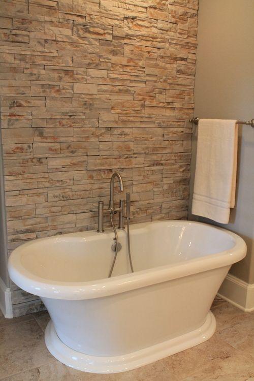 Cool Free standing tub bathtub stone accent in master bathroom Simple - Fresh bathroom remodeling sarasota Awesome