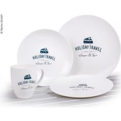 Photo of Holiday Travel melamine tableware set, 8 pieces for 2 people
