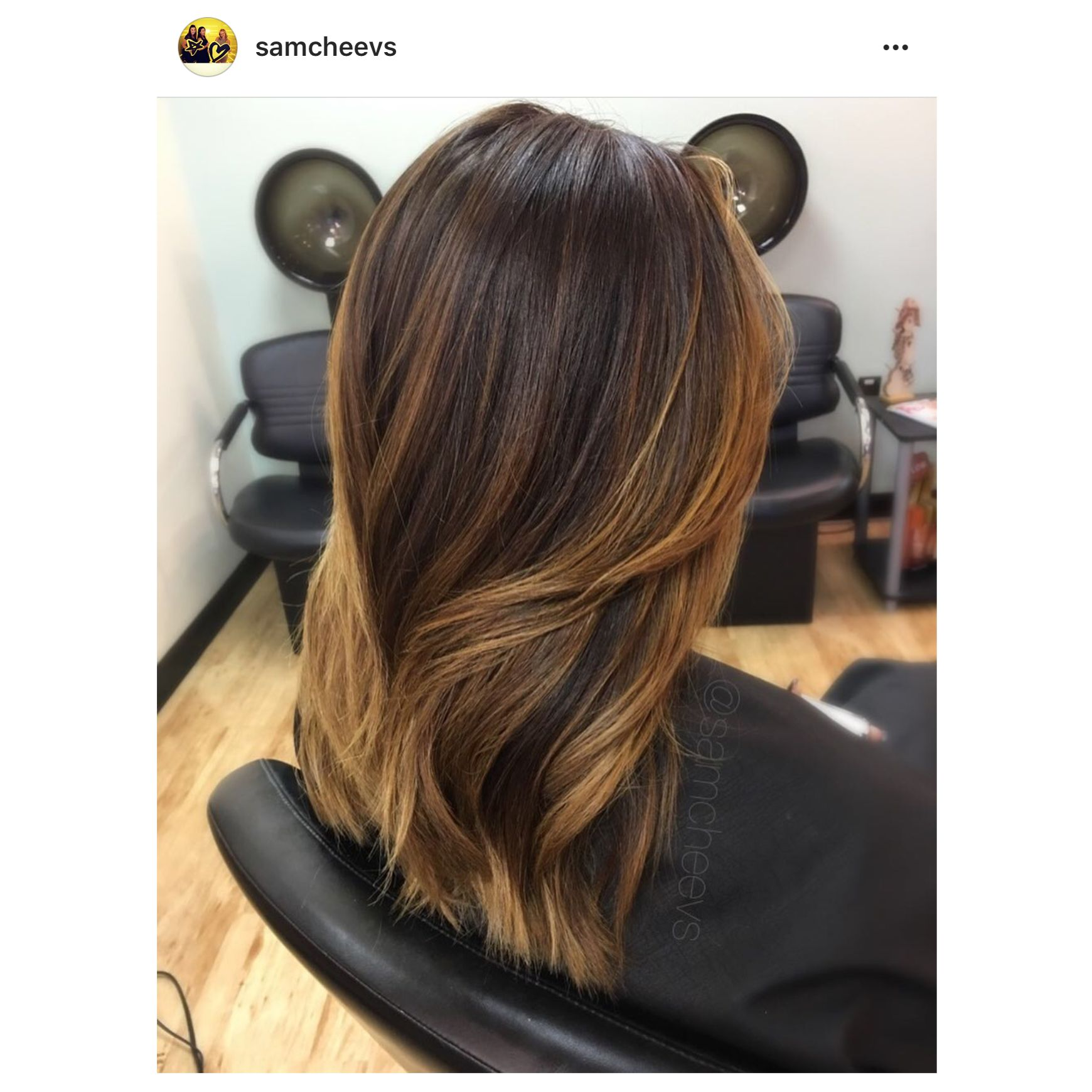 Caramel honey highlights for brown hair balayage for black hair