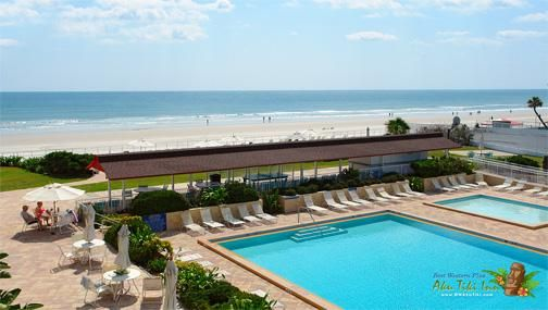 Best Western Aku Tiki Inn With Newly Renovated Daytona Beach Hotel Room Located Directly On The White Sand Beaches This Family Friendly Offers
