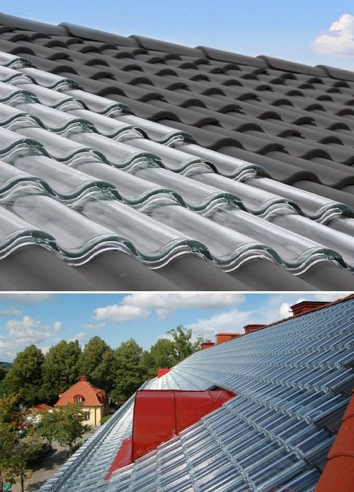 With These Glass Tiles Your Roof Can Generate Electricity Solar Roof Solar Heating Best Solar Panels