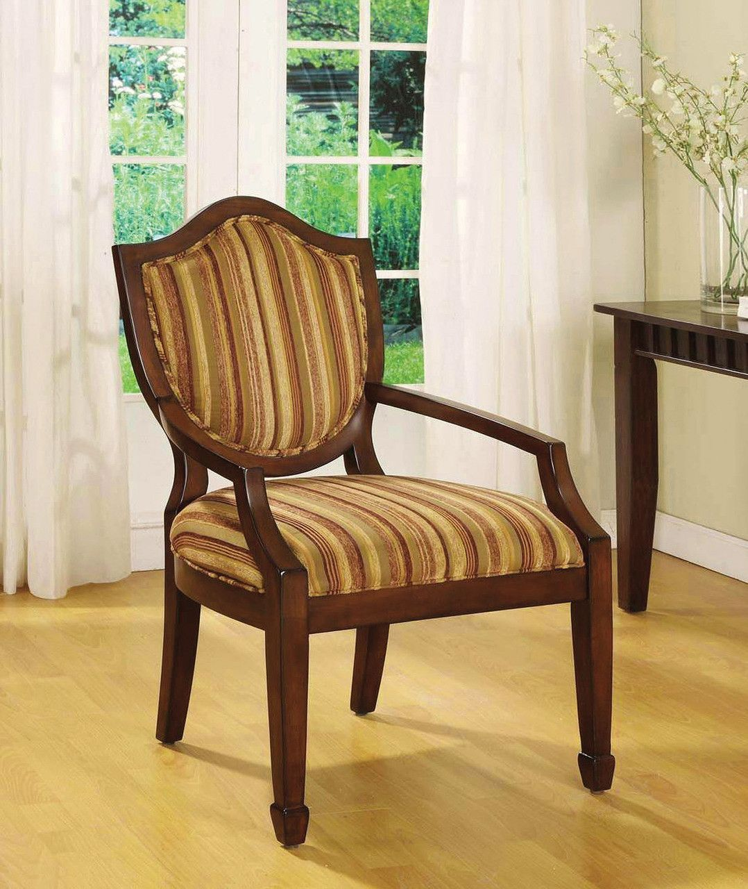 3pc Set Of 2 Accent Chairs Table Bernetta Ii Collectioncm Ac6026