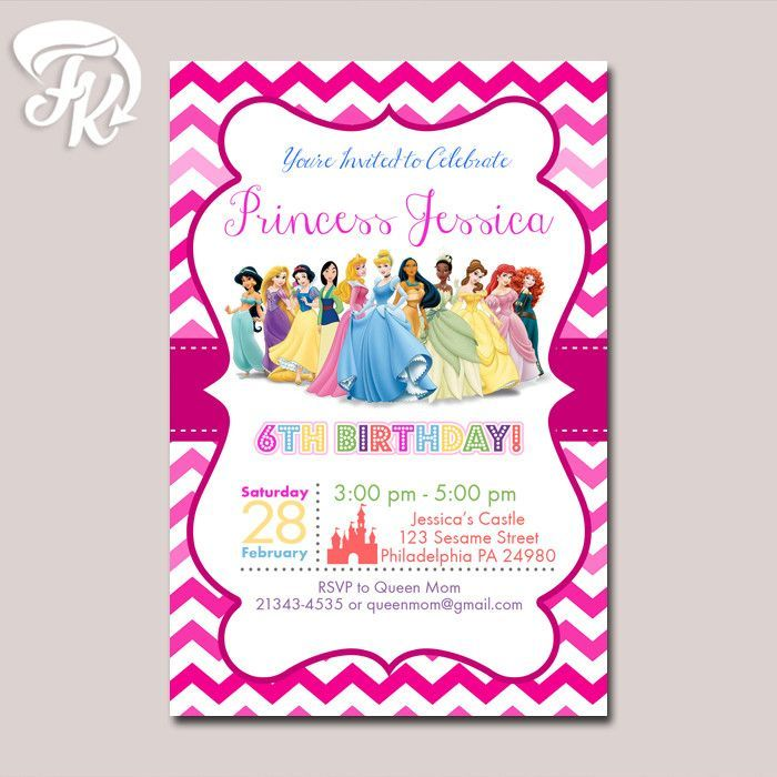 HOW TO ORDER Complete Data On Size Invitation Name Age - Birthday invitation cards size