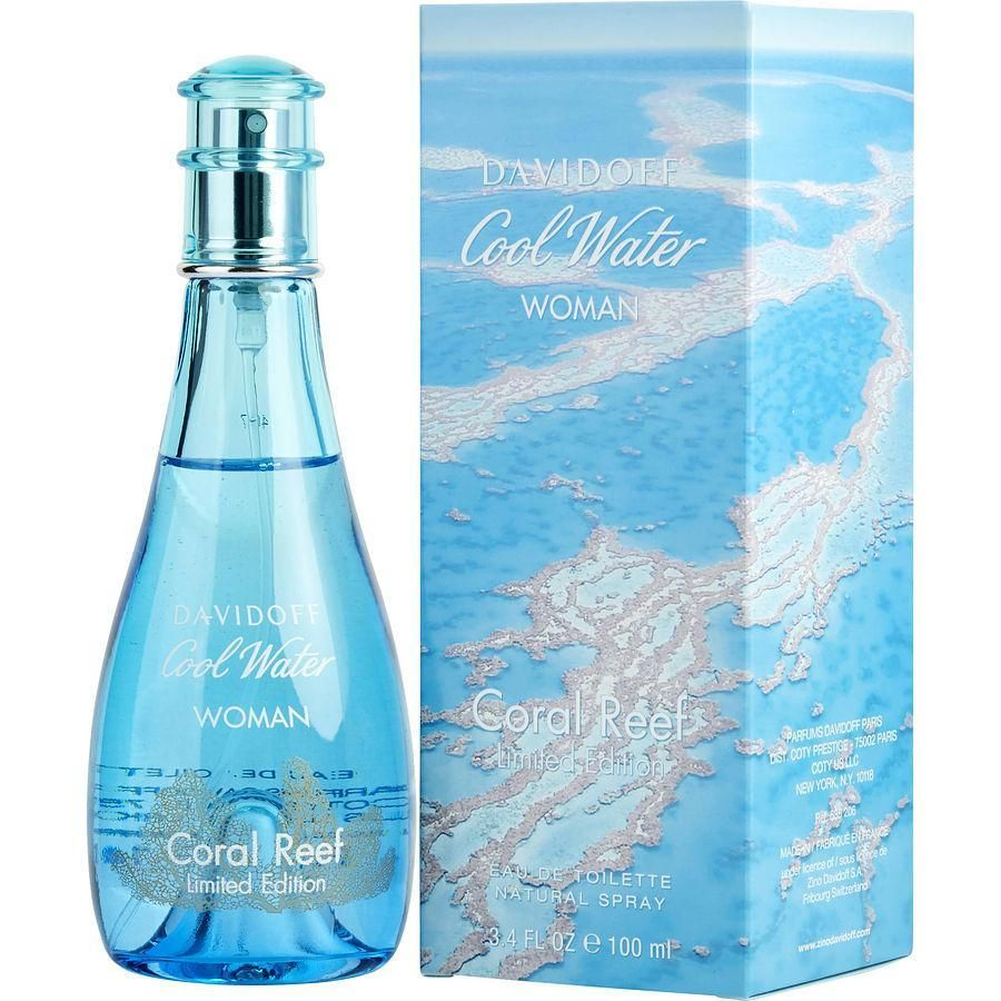 Cool Water Coral Reef By Davidoff Edt Spray 3 4 Oz (limited