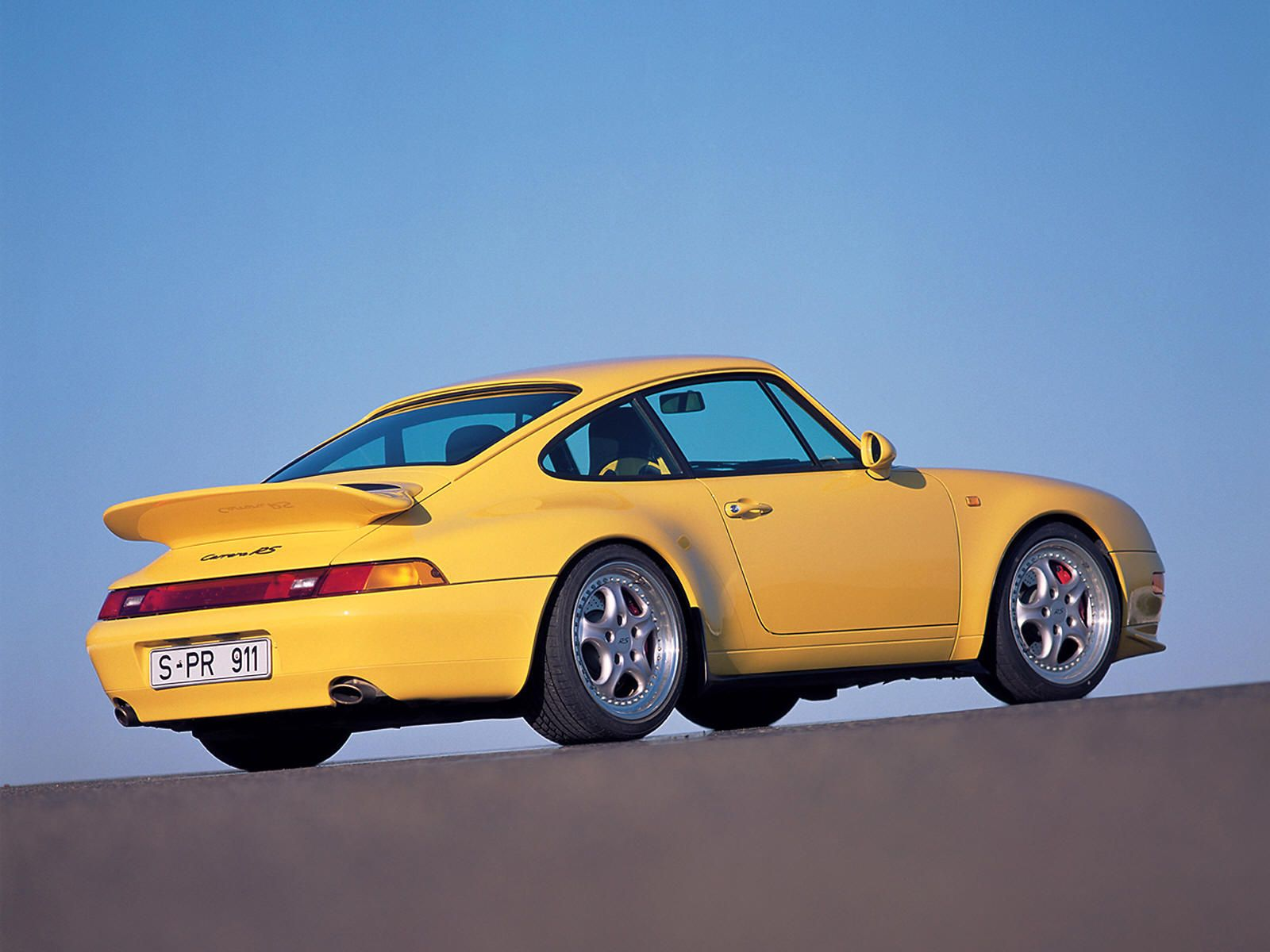Porsche 993 Pastel Yellow 1995 Porsche 911 Porsche 993 Porsche 911