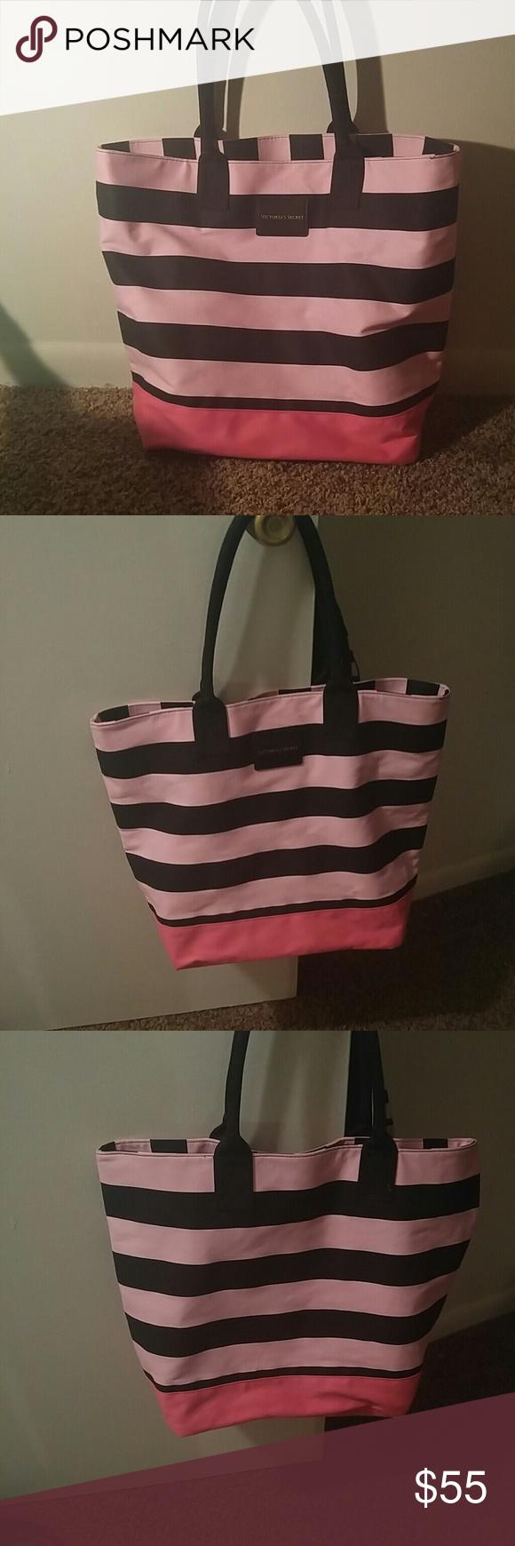 Victoria Secret Tote Multi color pink Victoria Secret Bag Victoria's Secret Bags Totes