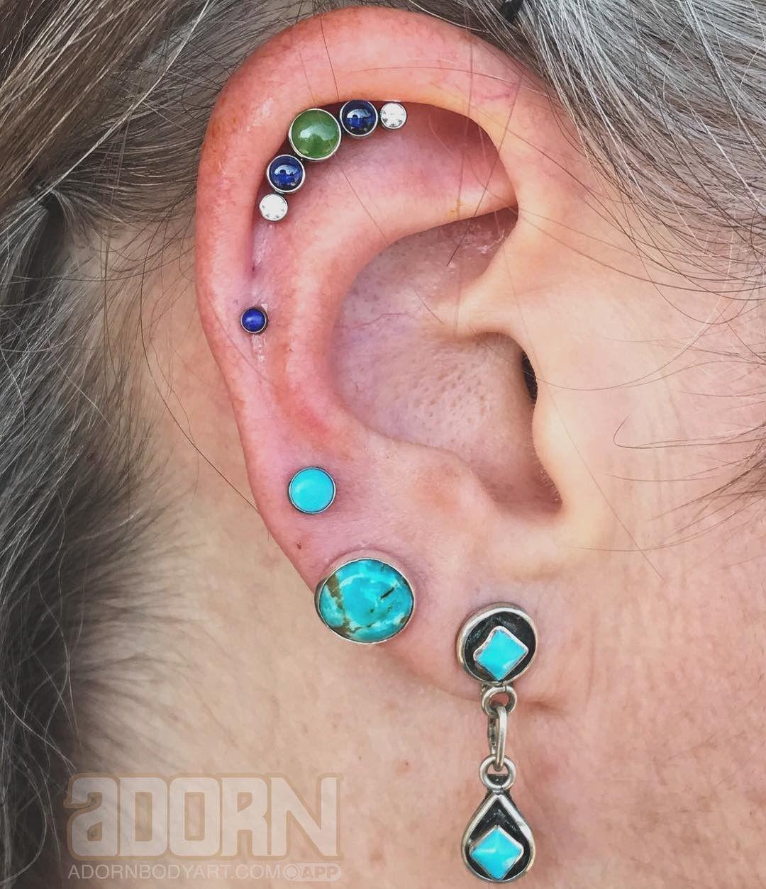 Body piercing pain chart  Helix By Emily Rose Jewellery by Anatometal u Neometal Jewelry