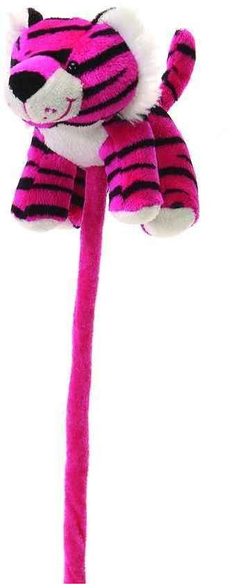 "6"" pink tiger on a 12"" stick Case of 60"