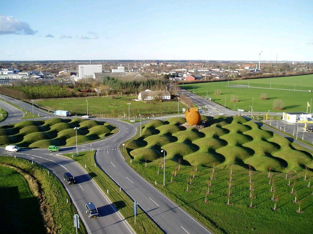 Land Art, Aabybro, Denmark