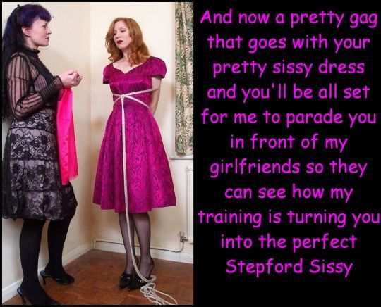 Forced sissy sex domme party