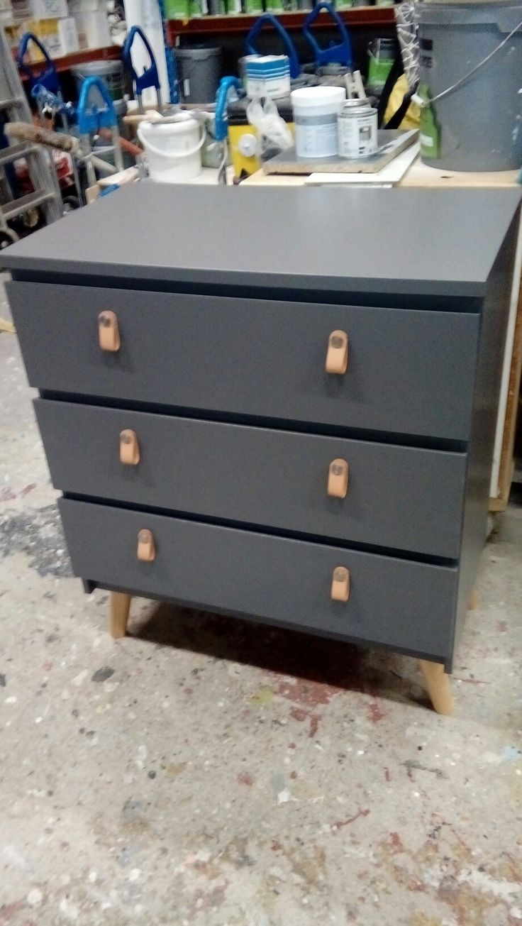 Commode Malm Esprit Vintage Diy Ideas In 2019 Ikea