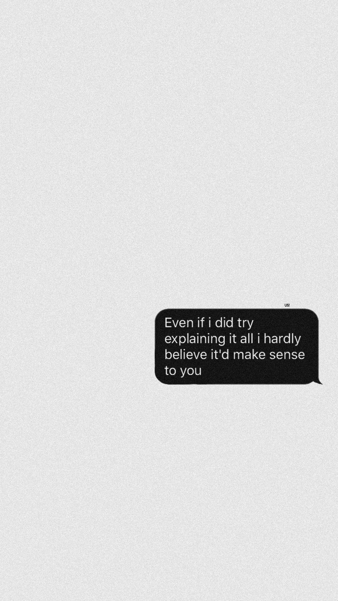 Pin By Ozge On Duvar Kagitlari Message Wallpaper Quote Aesthetic Chat Quote